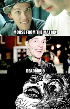 And yet the real Deadmau5 is still whiter... Canadian much, eh?