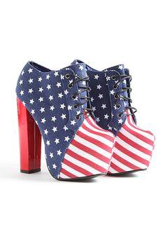Klarka USA Platform Shoe Boots