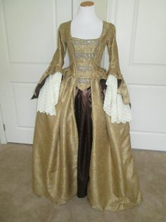 18th Century Gown by CostumesbyAly on Etsy