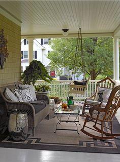 @Lynn of Decor Arts Now  I LOVE this porch...