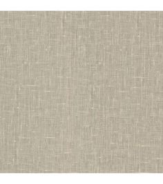 Linge Silver Linen Texture Wallpaper