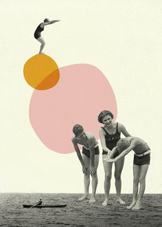 collage set on Behance Collage Kunst, Surreal Collage, Collage Artwork, Surreal Art, Poster Collage, Collage Drawing, Painting Collage, Collage Artists, Graphic Design Posters