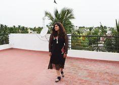 My Monsoon Fashion - Black Midi Dress with a Floral Love Monsoon Fashion, Black Midi Dress, Lifestyle Blog, Love Fashion, City, Floral, Dresses, Vestidos, Flowers