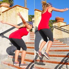 Image result for stair jumps