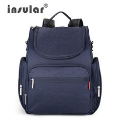 2016 New Arrival Insular Baby Diaper Backpack 210D Nylon heavy Duty Mommy Backpack Nappy Bag Changing Bag (32560891275)  SEE MORE  #SuperDeals