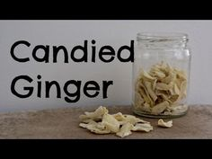No need to buy candied ginger anymore when you learn how simple it is to make at home. It keeps for up to a month and can be used in baking or even as a swee...