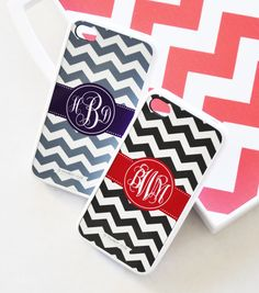 Personalized Chevron iPhone Case  Monogrammed by AModernStyle, $18.99