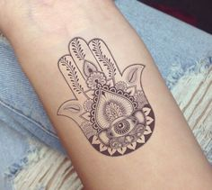 Hamsa or Fatima Hand Tattoo Designs For tattoo lovers the s . - Hamsa or Fatima Hand Tattoo Designs For tattoo lovers, symbolism as the aesthetic part of a tattoo - Hamsa Hand Tattoo, Hand Tattoos, Hamsa Tattoo Design, Forearm Tattoos, Body Art Tattoos, Small Tattoos, Sleeve Tattoos, Tattoos For Guys, Tatoos