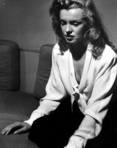 Rare photo of Marilyn Monroe