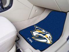 NHL Nashville Predators Car Mats 2 Piece Front by FanMats. Buy now @ReadyGolf.com