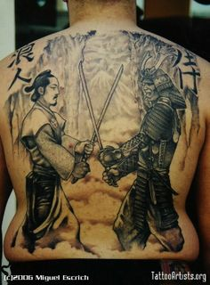 Samurai Tattoos desi