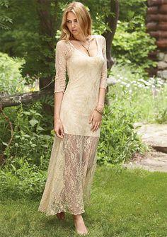 Rosie Lace Maxi Dress