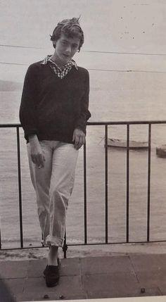 Elle Fashion, French Fashion, Vintage Fashion, Mens Fashion, Françoise Sagan, Jean Seberg, Writers And Poets, Fashion Collage, My Muse