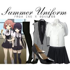 """[Inu x Boku SS] Summer Uniform"" by animangacouture on Polyvore"