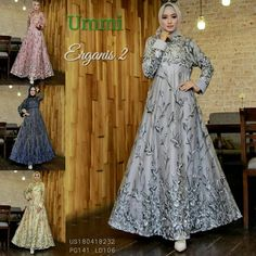 ERGANIS 2 Syari by Ummi Dress Only (geser gambar utk liat warna lain) Harga 540,000 Estimasi ready 22 April Bahan Tile lapis maxmara, inner, Busui, Kancing tangan, Pinggang karet, fit XL Tanpa phasmina Line @kni7746k Wa +62896 7813 6777 #queenalabels #marghon #karaenghilda #baenetta #agoesthanggono #ericsummers #ummi #shiraz #kanio #ummicollection #koys #bungas #Ayyanameena #gamissyaripremiummurah #beglow #hawwaaiwa #gamishijaberdenim #sandhi #nhamiranda #khadijahbusanamuslim #hijaberottd… Dress Brokat, Kebaya Dress, Abaya Pattern, Modest Maxi Dress, Hijab Dress Party, Casual Hijab Outfit, Muslim Dress, Beautiful Hijab, Abaya Fashion