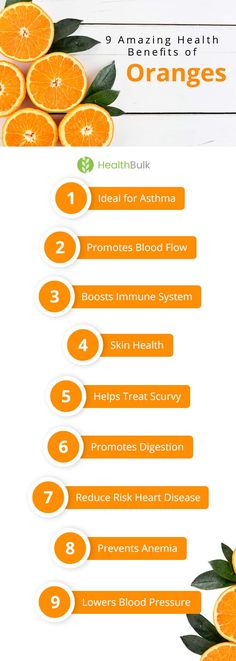 I bet you already know that Vitamin C plays an important role in maintaining optimum health. But do you know that oranges can supply your daily need of that essential vitamin? But, that's not all. Oranges are also packed with a variety of phytonutrient compounds helpful to your body. So, let's see these 8 Amazing Health Benefits of Oranges.