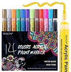 Paint Marker Pen, Acrylic Paint Pens, Marker Art, Acrylic Colors, Paint Pens For Rocks, Stone Painting, Rock Painting, Crafts To Make, Diy Crafts