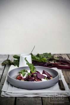 beetroot salad with blood orange dressing | table twenty eight