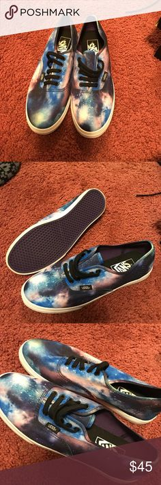 Galaxy Vans size 7 Galaxy Vans Shoes