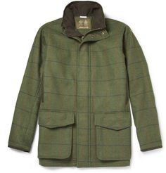 Musto Check Stretch-Tweed Field Jacket