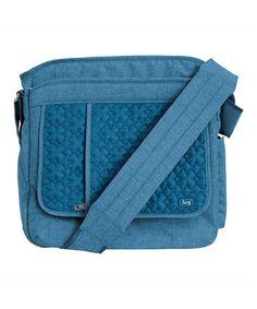 Look at this #zulilyfind! Ocean Blue Wings Day Crossbody Bag by Lug #zulilyfinds