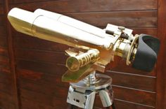 Grande et puissante binoculaire Jumelle en bronze d'observation BBT Krauss S12x72 1934