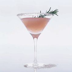 Rosemary Salty Dog | Chef Ashley Christensen adds muddled fresh rosemary to her version of the gin—and—grapefruit juice classic.