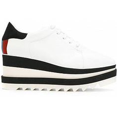 Similar products also available. Stella Mccartney Platform, Stella Mccartney Shoes, Platform Sneakers, Leather Sneakers, Stella Mccartney Trainers, Creeper Boots, Suede Heels, White Leather, Fashion Shoes