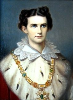 A nice portrait of King Ludwig II