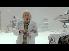 Great Scott! Doc Brown has a new 'Back to the Future' short - CNET