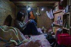 La vida en espacios pequeños por Won Kim