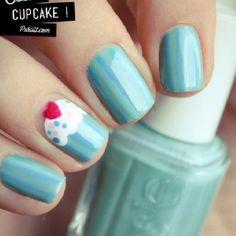 Cupcake nails! Facebook