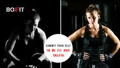 You are the Only Person Who Can Make You #Fit, No One Else. Join #BoxFit for #Strength #Workout Call us for more information @ 09910068243