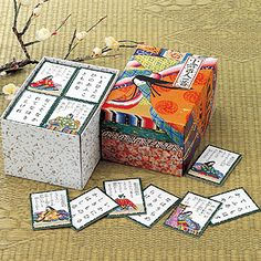 """Hyakunin isshu is a traditional anthology style of compiling Japanese waka poetry where each contributor writes one poem for the anthology.   Literally, it translates to """"one hundred people, one poem [each]"""". It also refers to the card game of uta-garuta, which uses a deck composed of poems from one such anthology."""