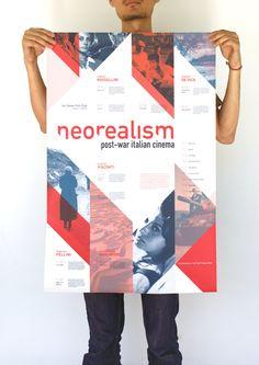 Italian Neorealism Cinema Series by Oliver Lo, via Behance