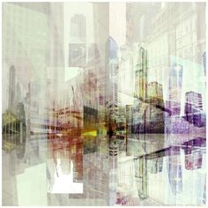 Collages by Gudrat Ibrahimov, via Behance