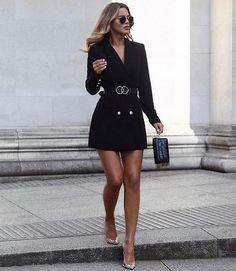 Wie man den Blazer trägt: Wort des Influencers - Mode - Best Of Women Outfits Bad Girl Outfits, Mode Outfits, Fall Outfits, Fashion Outfits, Blazer Fashion, Fashion Clothes, Summer Outfits, Women's Clothes, Dress Outfits