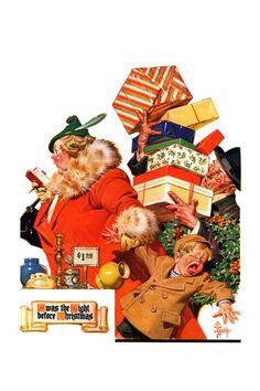 Night Before Christmas  JC Lyendecker  December 26, 1936