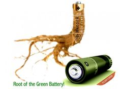 Battery from Madder Root Dye