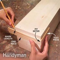 DIY - How to build a wooden cornice with a top....can use this in the kitchen and display my teapots on top.