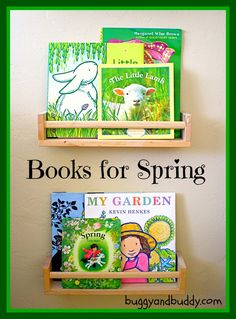 Our 7 Favorite Spring Books {book set}