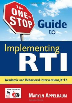 Use this nuts-and-bolts guide to implement RTI schoolwide and help all your students succeed! Concise and reader-friendly, this resource walks administrators and teachers through the complete process Response To Intervention, Behavior Interventions, Classroom Organization, Classroom Ideas, Ela Classroom, 3rd Grade Reading, Math Practices, Behavior Management, Classroom Management