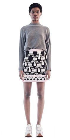 MaXhosa Pink Tassel Mini Skirt, Threads