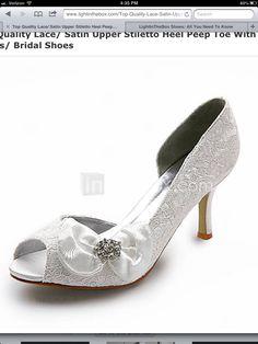 Bride shoe?