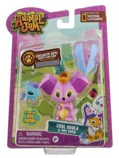 Animal Jam Cool Koala & Pet Pony #Jazwares