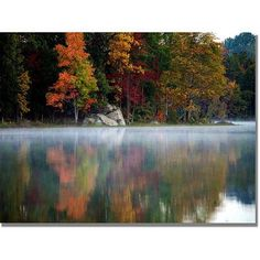 Trademark Fine Art Old Autumn Canvas Wall Art by MCat, Size: 26 x 32, Multicolor