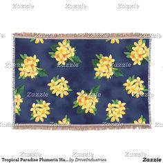 Tropical Paradise Plumeria Hawaiian Throw Blanket http://www.zazzle.com/tropical_paradise_plumeria_hawaiian_throw_blanket-256108023789440333?CMPN=shareicon&lang=en&social=true&view=113764173423924345&rf=238588924226571373