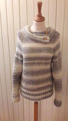 Trui Rachel met #kraag, erg #leuk om deze #variatie van Henny in mijn mail te krijgen #gratis #patroon #trui #Rachel #wol #zeeman #haken #creatief #DIY #gehaakt #crochet #crocheting #sweater #truimetmouwen #makkelijk #free #pattern #gratis #patroon #jufsas #simpel #stokjes #reliëfstokjes #boordsteek #blog #bezoeker #foto #patroon #leuk #blogvanjufsas #haakpatroon #beginnendehaakster #beginnend