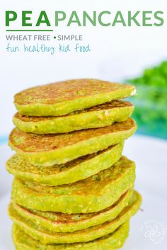 Mini pea pancakes, perfect for baby led weaning, packed with peas, oats and protein, perfect for savoury snack for kids (pancake cups cottage cheese) Toddler Meals, Kids Meals, Toddler Food, Toddler Recipes, Toddler Stuff, Family Meals, Baby Led Weaning Breakfast, Healthy Snacks For Kids, Kid Snacks
