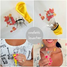 Confetti launcher craft crafts crafty new year new year pictures new year images new years crafts
